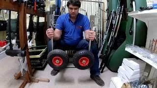 Транцевые колеса для ПВХ лодки (нерж)