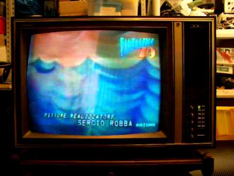 Tv Color A Valvole 1972 Philips Multistandard Tube X26 K221 Di  Colortubemania Roma Italia