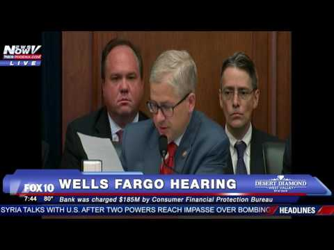 FNN: Wells Fargo CEO John Stumpf GRILLED by Congress - House Financial Services Committee Hearing