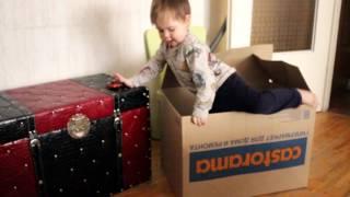 Новая игрушка- Коробка . Детские шалости.