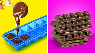25 DELICIOUS ICE CUBE TRAY HACKS || Kitchen Hacks For A Special Meal!