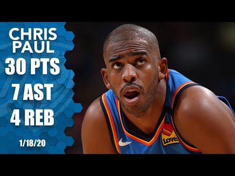 Chris Paul drops 30 points vs. Trail Blazers | 2019-20 NBA Highlights