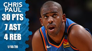 Chris Paul drops 30 points vs. Trail Blazers | 2019-20 NBA Highlights