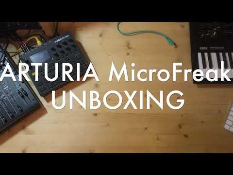 ARTURIA MICROFREAK UNBOXING