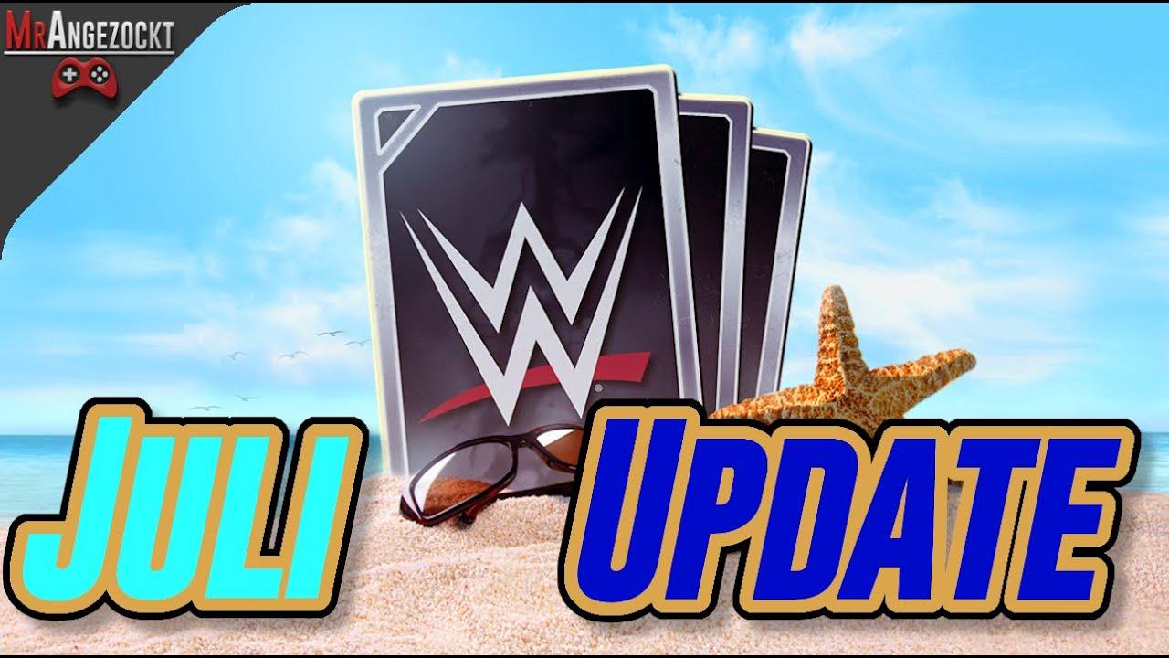 🆕Juli News & Updates für WWESuperCard  🆕 | WWE SuperCard deutsch