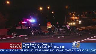 Fatal Crash On Long Island Expressway