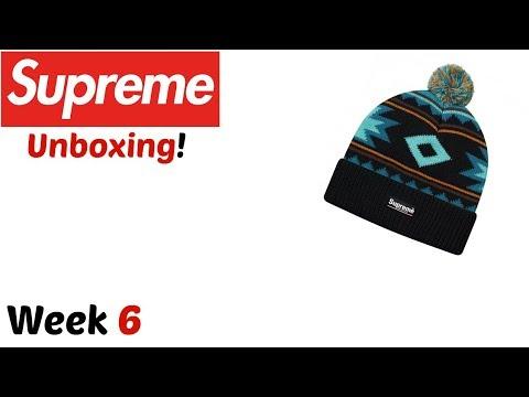 8598294801773 Supreme  Southwest Beanie (Black) Unboxing! (FW17 Week 6) - YouTube