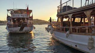 Турция, Бодрум, 2020. После карантина. Типичный день отдыхающих.