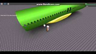 Roblox animated Cargo door Airbus A320
