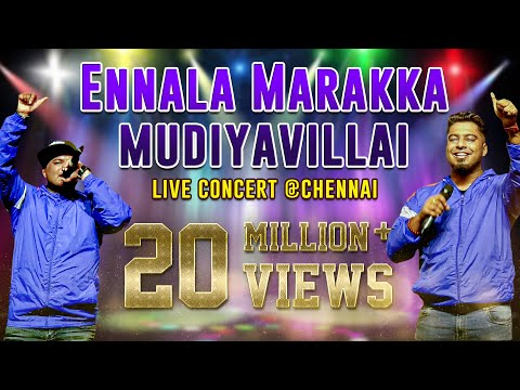 Ennala Marakka Mudiyavillai Video Song  Havoc Brothers Live Show  Chennai  தமிழ் தொலைக்காட்சி