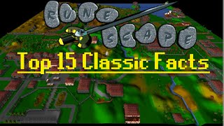 My Top 15 Facts About RuneScape Classic