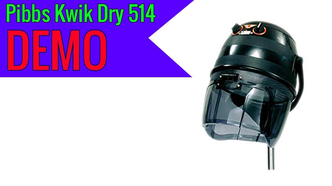 Pibbs 514 Kwik Dri 1100w Salon Dryer