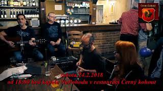 Skupina NaPohodu-Jak děkuje se andělům 24.2. 2018 v restauraci Černý kohout