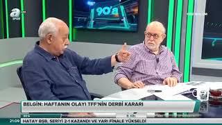 A Spor 90'A Tek Part 1 Mayıs 2018 Hıncal Uluç Kemal Belgin Güven Taner Yorumları