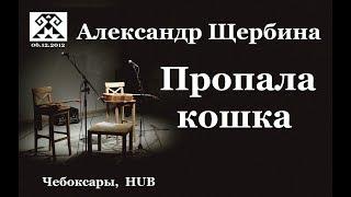 Пропала кошка. Александр Щербина