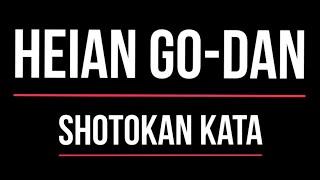 Shotokan Kata - Heian Godan