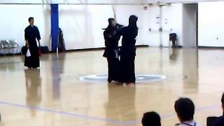 Kendo 2012 Japan Highschool Team vs USA SoCal Youth: Chuken