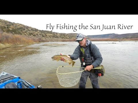 Fly Fishing The San Juan River New Mexico (part 1)