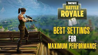 Fortnite Best Settings: Increase Your FPS and Overall Performance