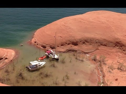 Tiny Sailboat Goes to Lake Powell - 1