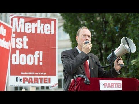 """Die PARTEI - Bericht in den ARD-Doku """"Die kleinen Parteien"""" vom 11.9.2017"""