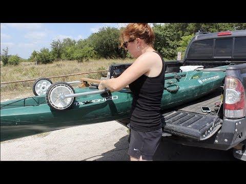 Making a DIY Kayak Dolly
