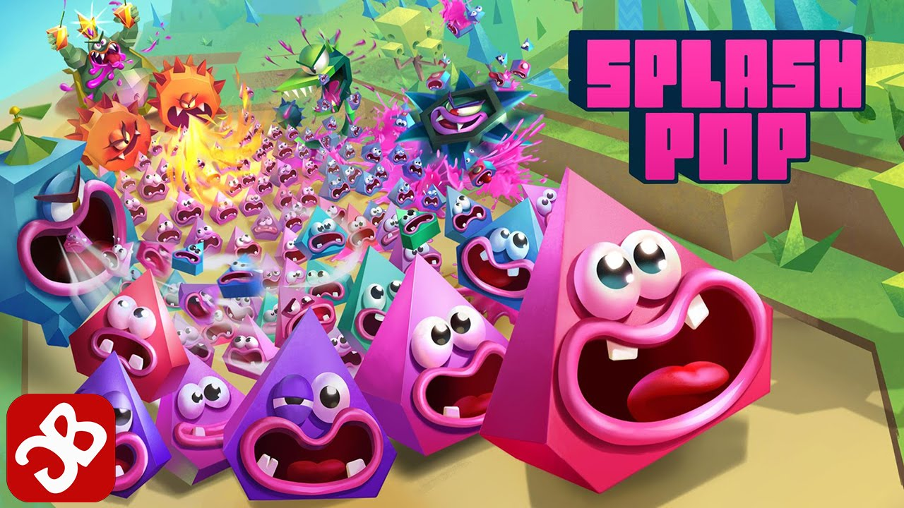 Frima Studio splash pop (by frima studio inc,) - ios/android - gameplay trailer hd
