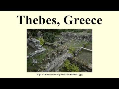 Thebes, Greece