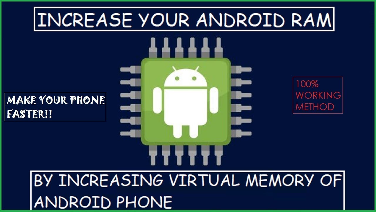 Phone Booster | Increase Your RAM By Increasing Virtual Memory In Any  Android Phones [HINDI] |2019