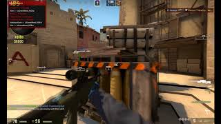 RAGE HACKING ON WEAPON EXPERT WITH AIMWARE (CS:GO)