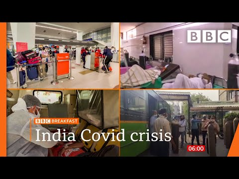 Covid: India joins UK's 'red list' as travel ban begins @BBC News live 🔴 BBC
