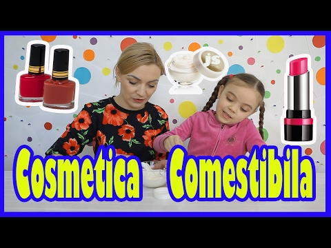 PREPARAM Produse Cosmetice Comestibile /How to Make Edible Cosmetics
