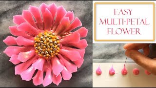 How to make a Chocolate Flower   Simple & Easy Petals