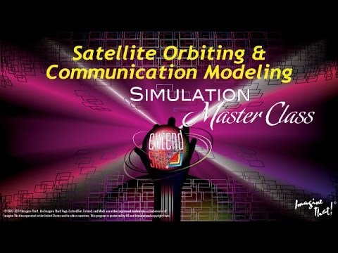 Satellite Orbiting and Communication Modeling
