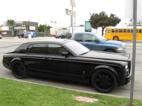 All Blacked Out Fully Raced Out Rolls Royce Just