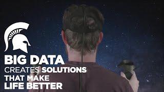 البيانات الكبيرة يخلق الحلول التي تجعل الحياة أفضل