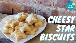 How to make Cheesy Star Biscuits