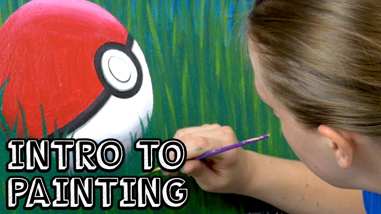intro to painting pokémon youtube