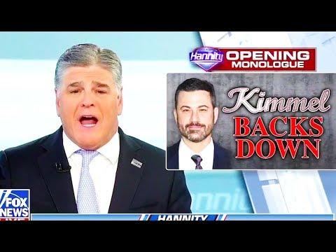 Hannity Rubs Jimmy Kimmel's Face In It