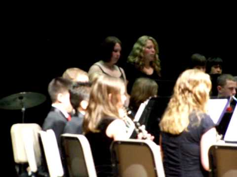 Moore Middle School - Music in the parks part #2
