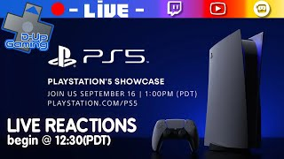 PS5 Showcase Live Reactions - 20200916