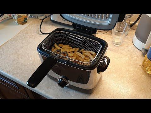 Фритюрница Tefal Minifryer FF220015 - картошка фри дома