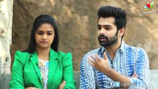 Ram pothineni and keerthi suresh about nenu sailaja movie