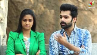 Ram pothineni and keerthi suresh about nenu sailaja movie