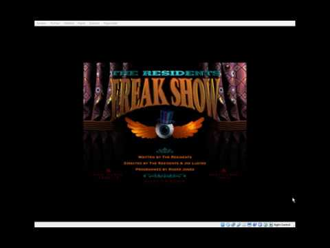 The Residents - Freak Show - CD-ROM (1994) - Mickey, Benny,