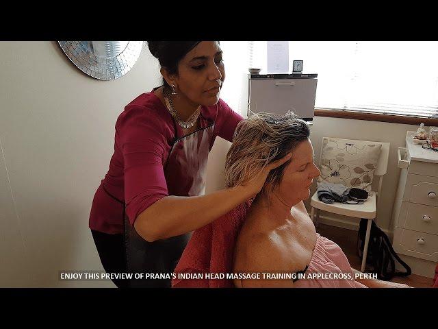 Indian Head Massage Course Perth - Prana Applecross
