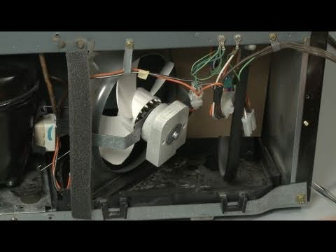 GE Refrigerator Replace Condenser Fan Motor #WR60X10350 - YouTube