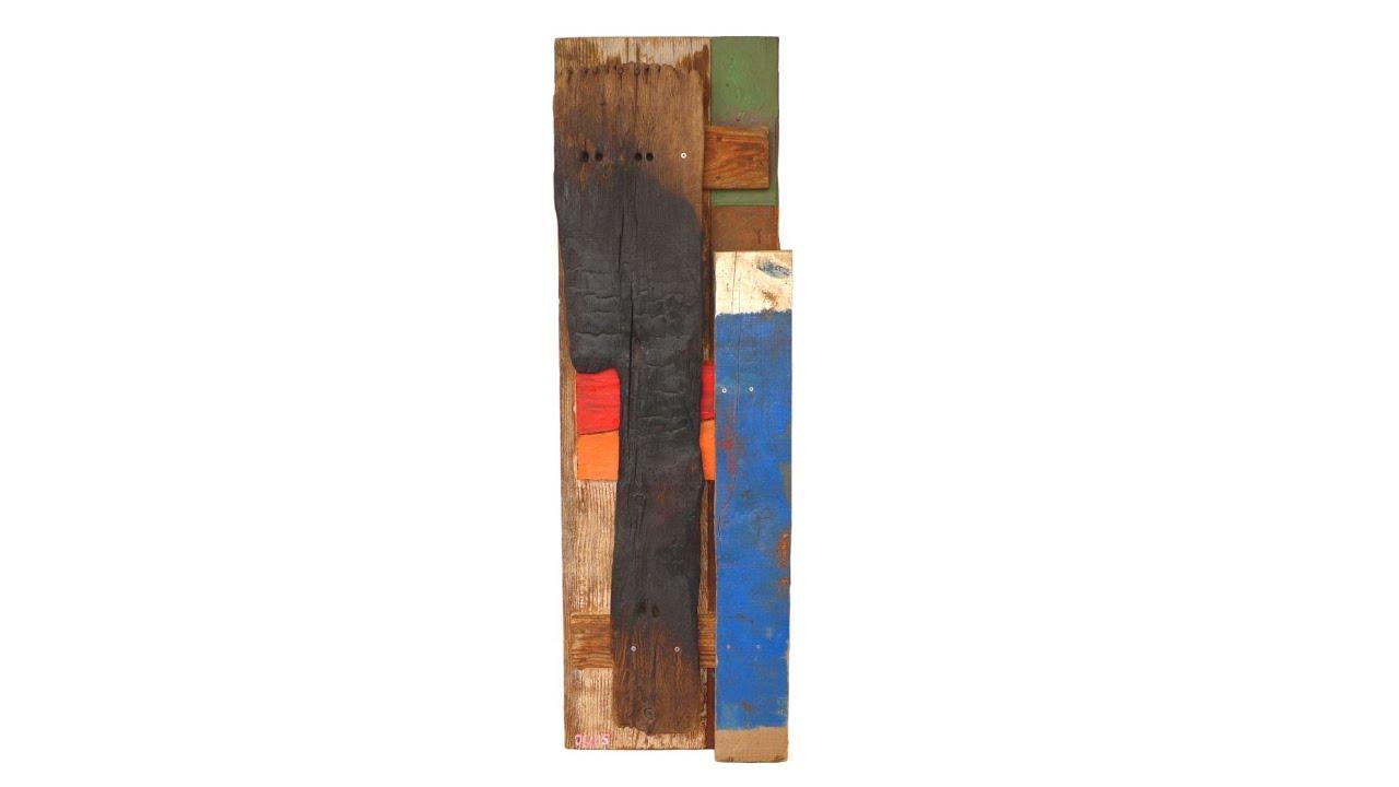"""Treibholz Kunst renunciar a algo"""" - collage 2015 - walkoart driftwood art"""