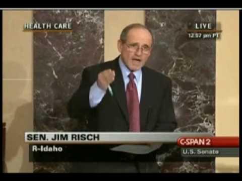 Senator Jim Risch Tells it Like it Is on Health