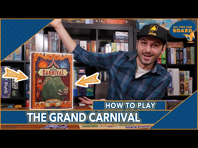 The Grand Carnival | How to Play IN 8 MINUTES! (2020 SLEEPER HIT)